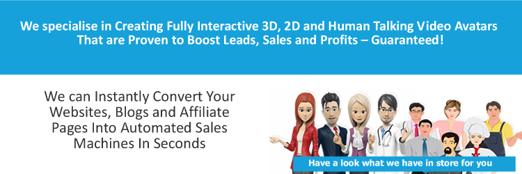 Details about Engage your website visitors more with a 2d or 3d talking  website avatar